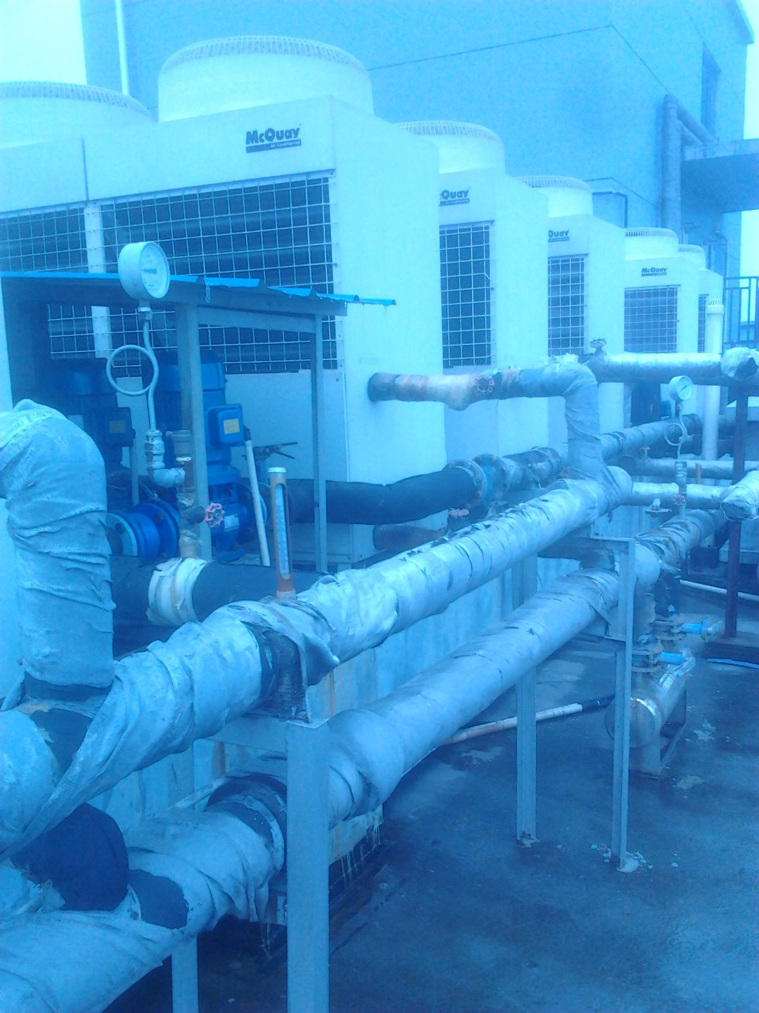 长沙中央空调水处理现场